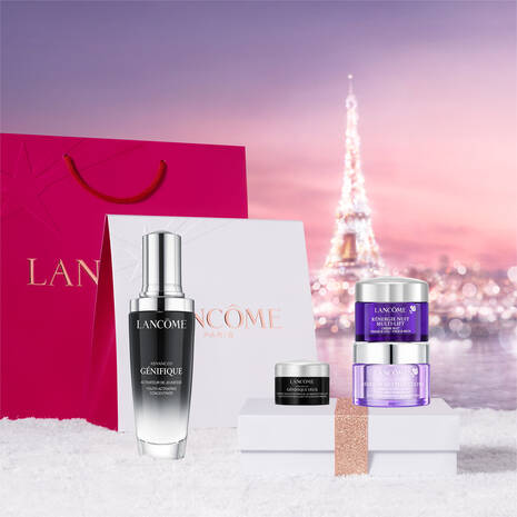 Lancome Advanced Genifique Serum 50ml Holiday Gift Set For Her
