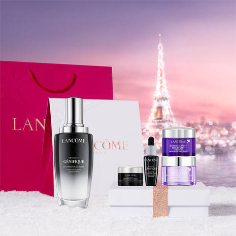 Lancome Advanced Genifique Serum 115ml Holiday Gift Set For Her