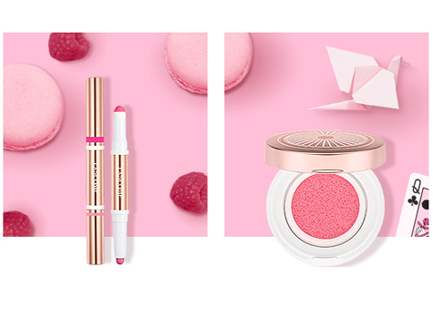 Sweet Shades for Rosy Cheeks and a Soft Lip