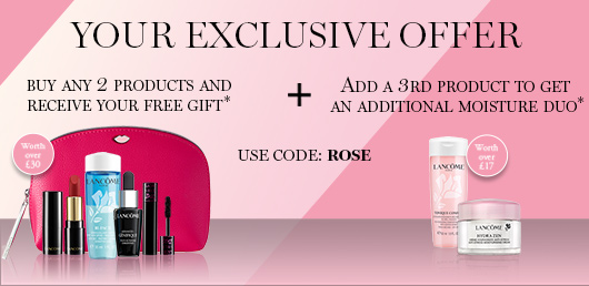 Exclusive Beauty Offers & Gifts - For Online Only - Lancôme